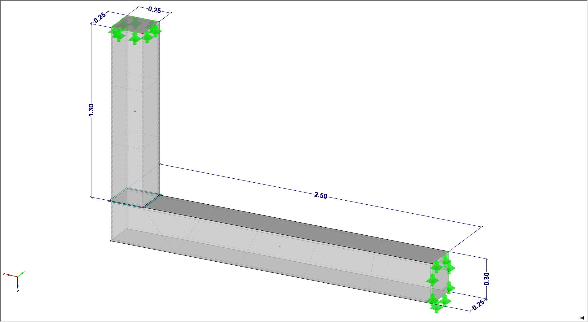 Vlakvrijgave toepassen tussen 2 solids in RFEM