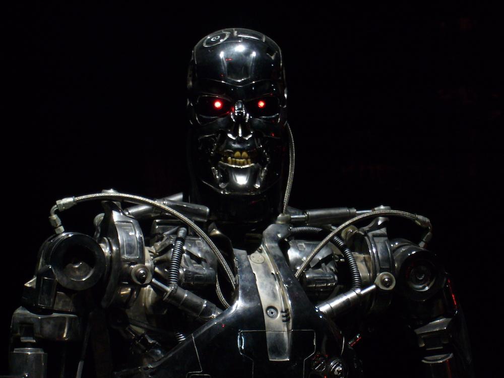 Gilt als Cyborg, ist aber ein Android: Der Terminator