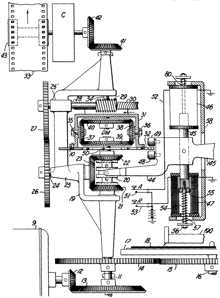 "Das Patent von Vitaphone: ""Provide a mechanism, wherein a plurality of records may be moved in synchronism in a SIMPLE manner."" Quelle: https://www.google.com/patents/US1637161"
