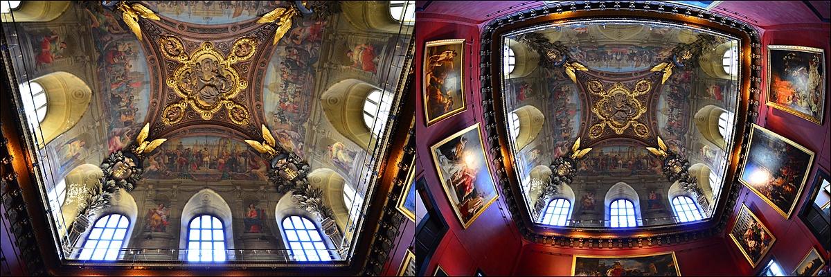 Látószögtanulmány a Louvre-ban