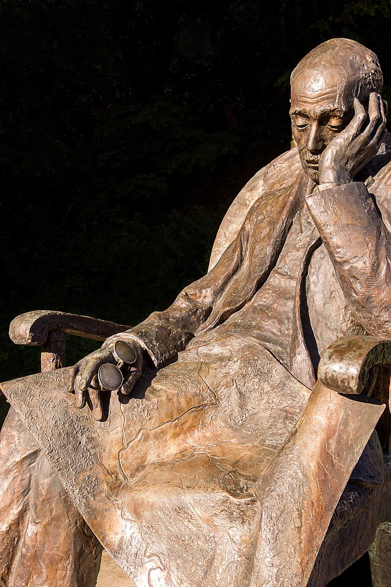 A Teleki szobor.