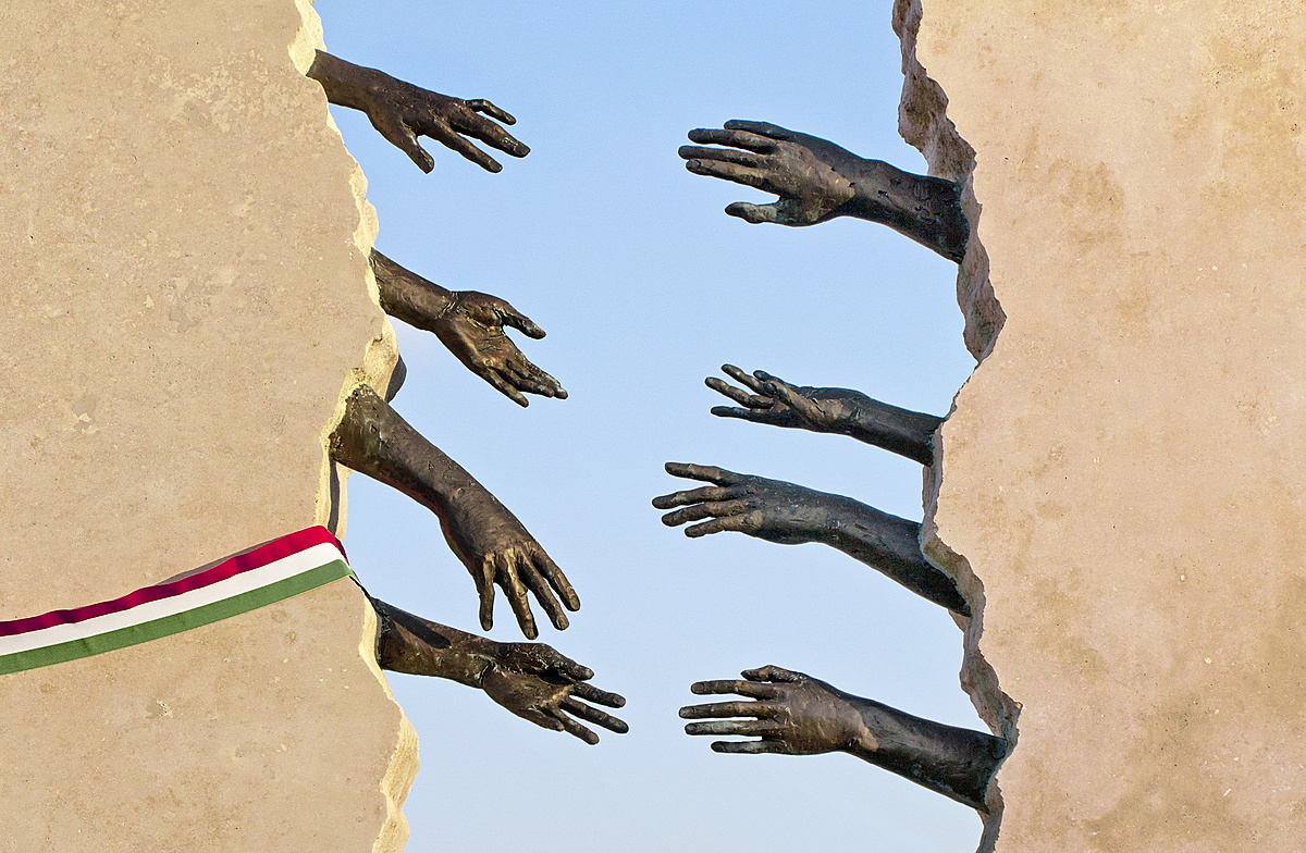 Plakátterv a nemzeti összetartozás napjára