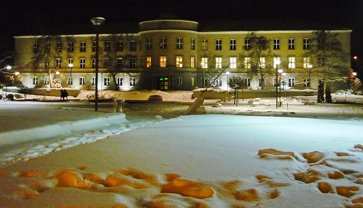 Lábnyomok a hóban