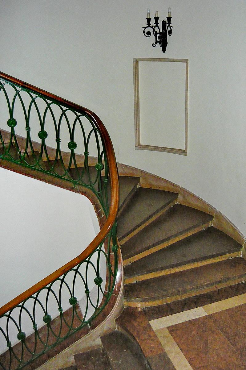 Lépcsőházi részlet