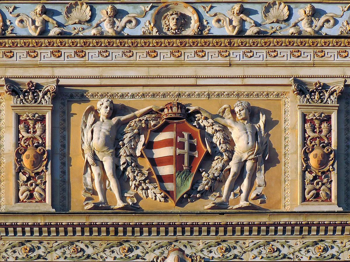 Címeres puttók