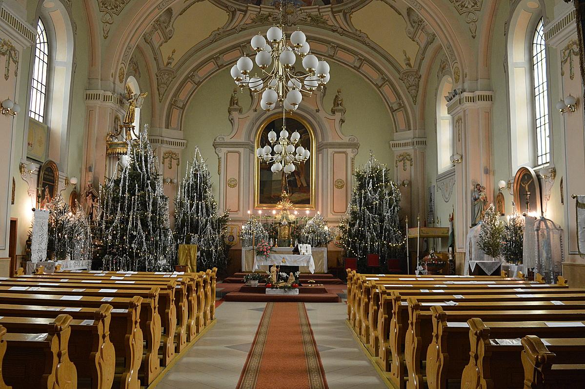 Szent Imre Templom belseje