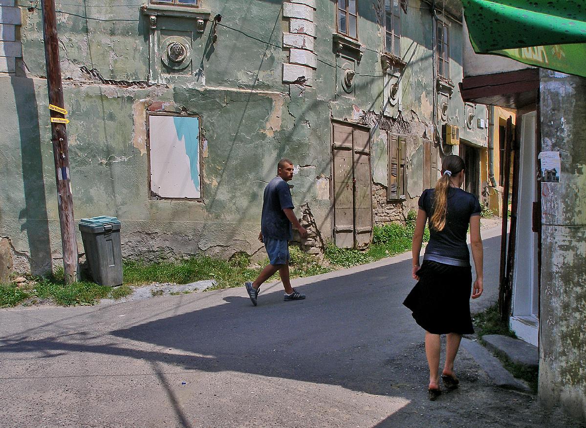 Régi házak utcája