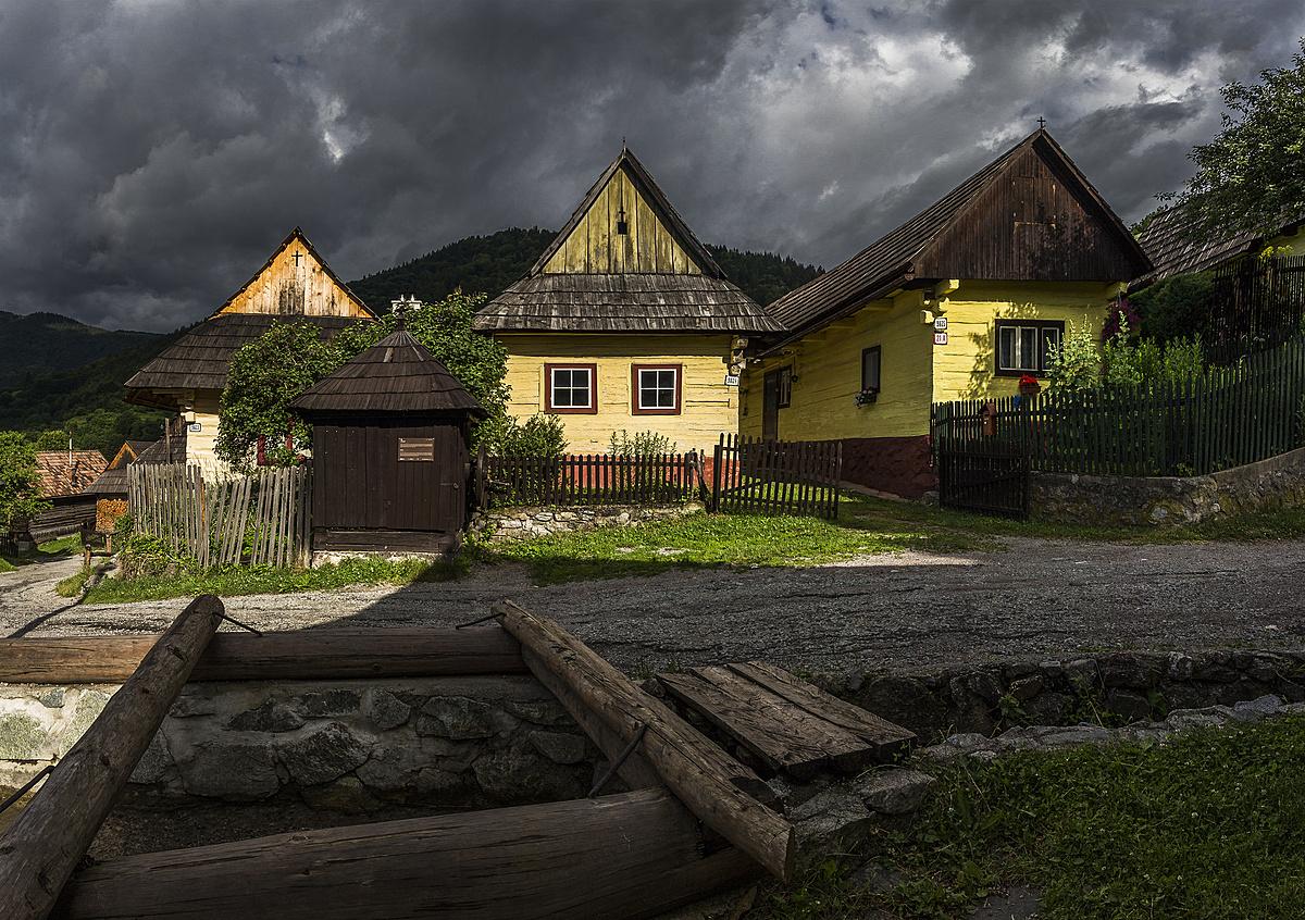 Ez a falu egy távoli bolygó