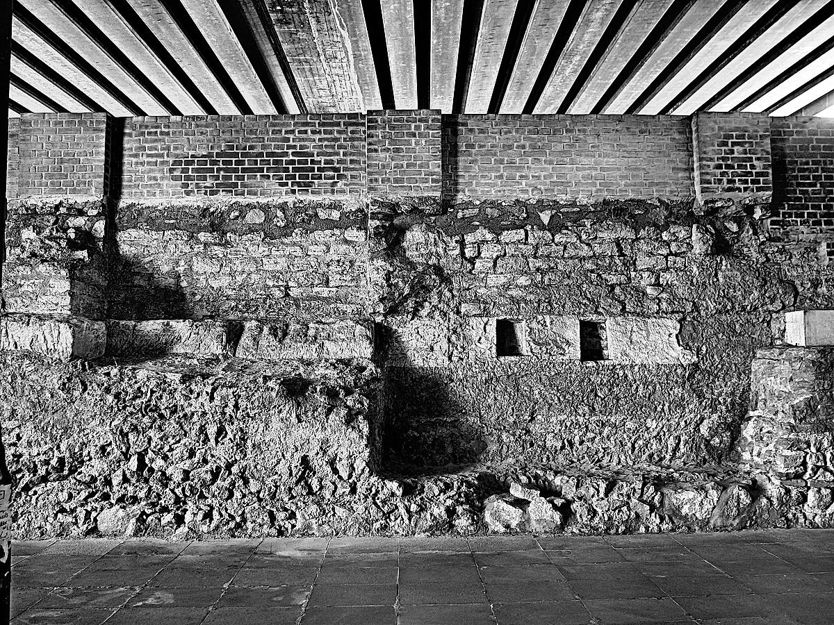 Római romok a Florián Téren