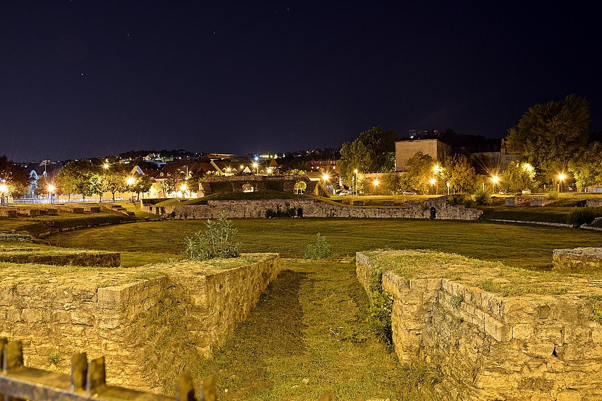 Amfiteátrum  éjszaka