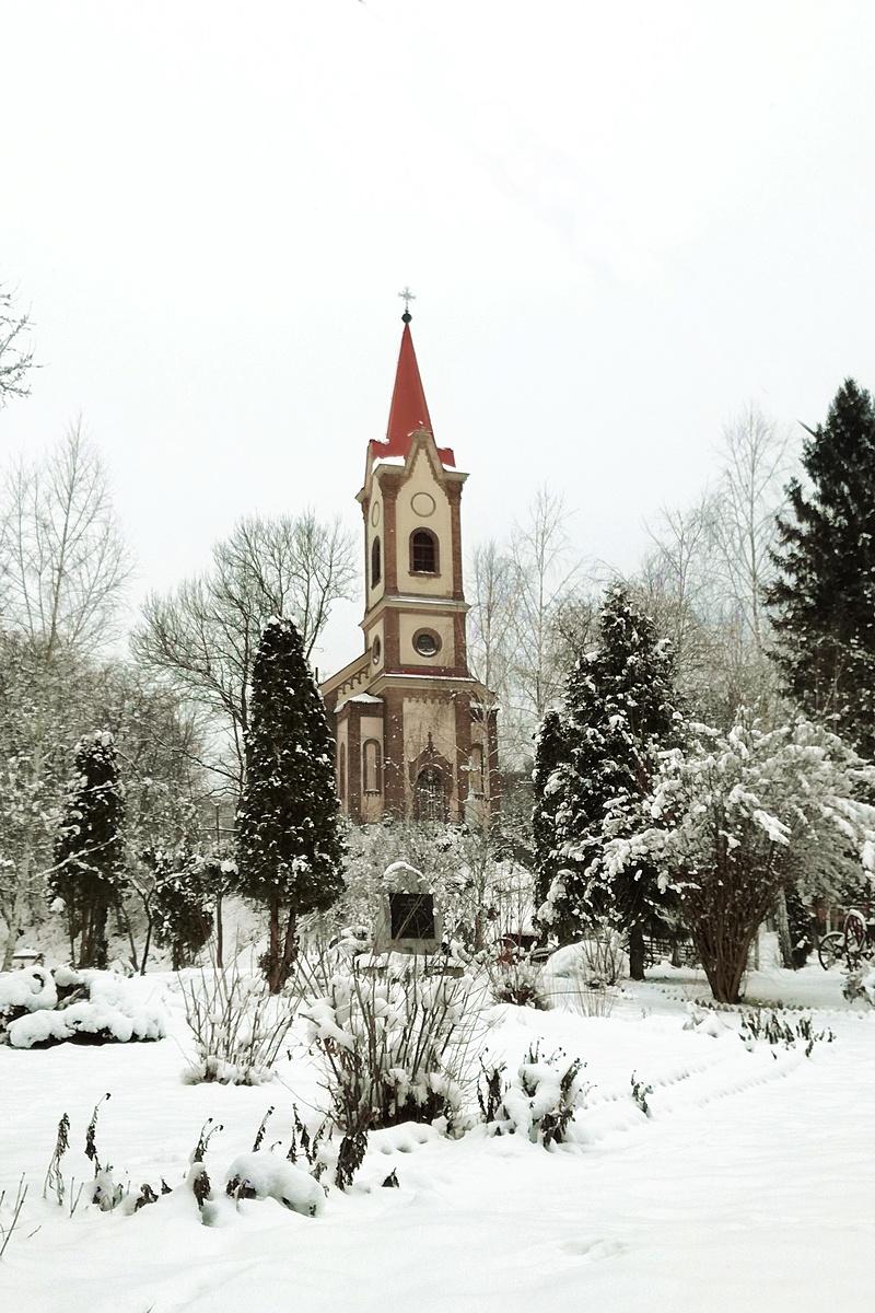 Sajónémeti Templom havazás után