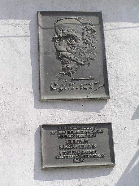 Csontvári Kosztka Tivadar szülőháza