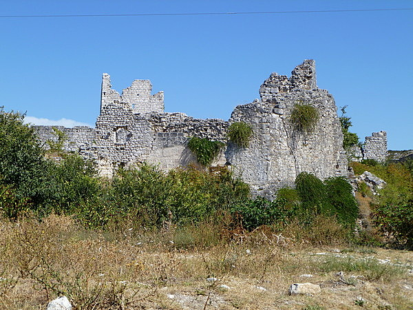 Vránai vár romjai