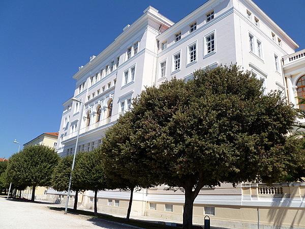 A Zadari Egyetem épülete