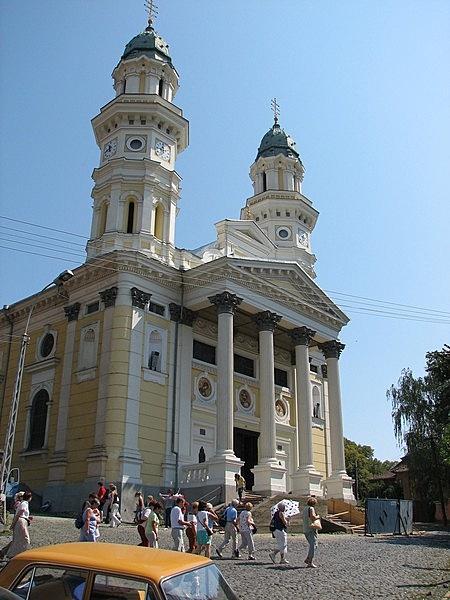 Görög katolikus püspöki palota és székesegyház
