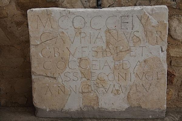 Római villa maradványai