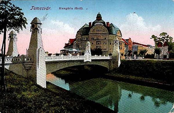 Hungária-fürdő (később Neptun-közfürdő)