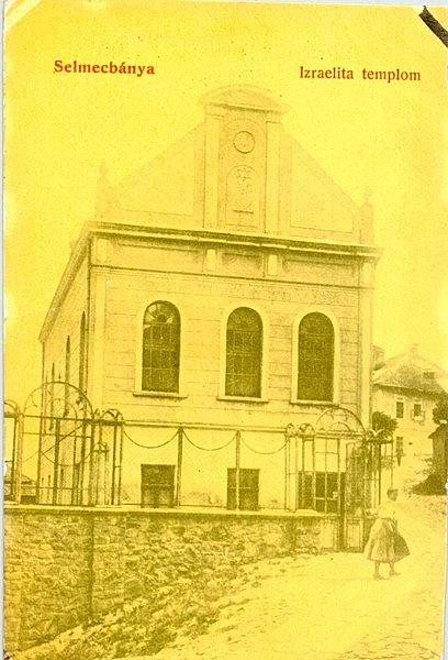Volt neológ zsinagóga