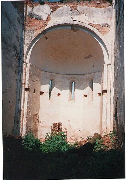 Premontrei templom romja