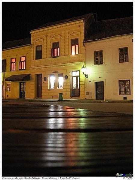 Strasser-ház és gyógyszertár