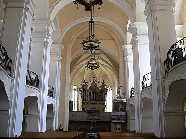 Erődített református templom