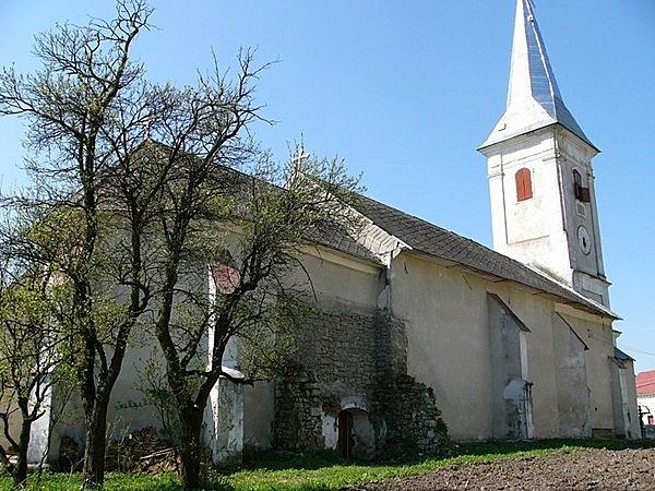 Volt Szent Simon és Júda evangélikus templom