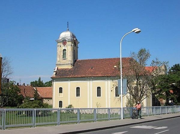 Istenszülő templomi bevezetése görögkeleti szerb (Rác-) templom