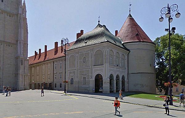 Érseki palota és Szent István-kápolna