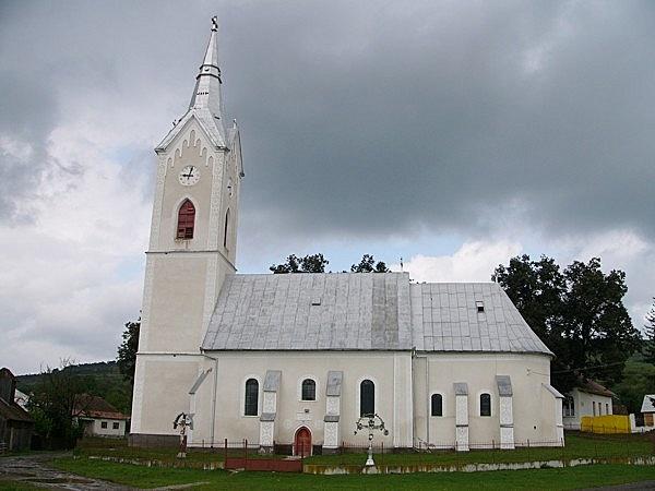 Volt evangélikus (ma román ortodox) templom