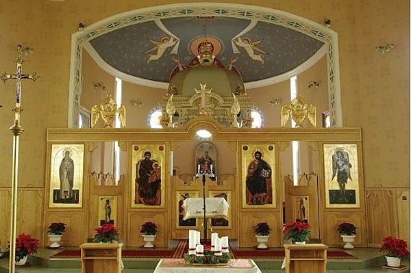 Szt. Miklós (Németi) görög katolikus templom
