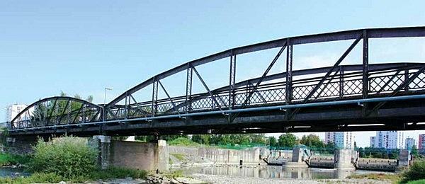 Régi acél Laborc-híd