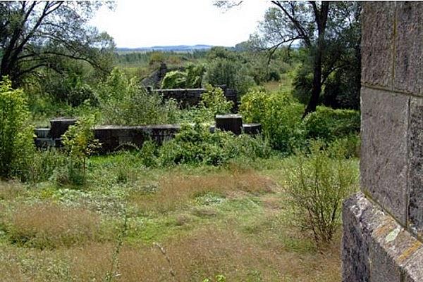 Ipoly-híd maradványai