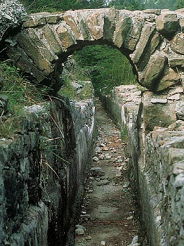 Acquedotto romano della Val Rosandra