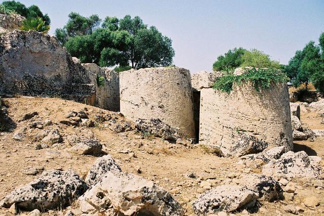 Area archeologica Cava di Cusa Vincenzo Tusa