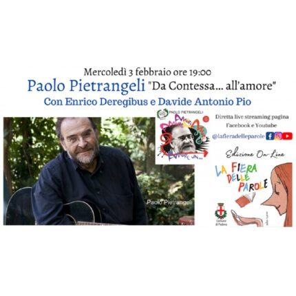 Paolo Pietrangeli ospite alla 'Fiera delle parole' foto