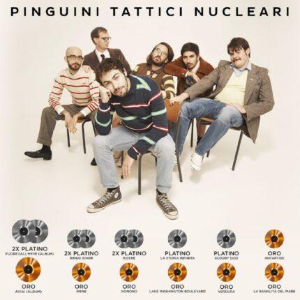 Pinguini Tattici Nucleari le nuove certificazioni foto