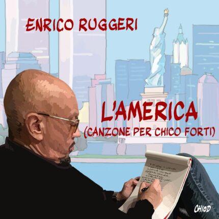 """Enrico Ruggeri """"L'America (Canzone per Chico Forti)"""" foto"""