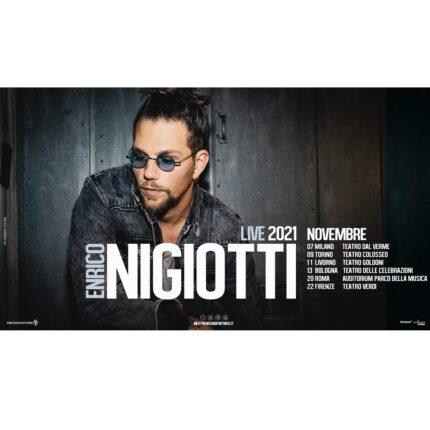 Enrico Nigiotti rinviato in autunno 2021 il tour teatrale foto