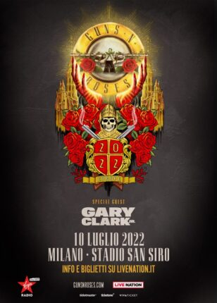 Guns N' Roses in concerto a Milano nel 2022