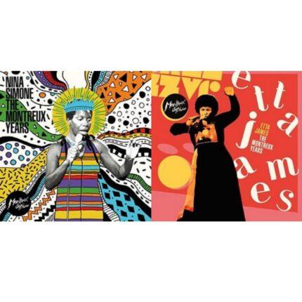 Nina Simone ed Etta James The Montreux Years foto