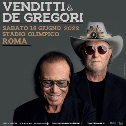 Venditti & De Gregori rinviato concerto Roma foto