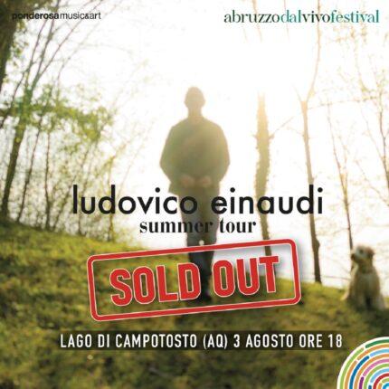 Ludovico Einaudi a Campotosto è già sold out foto