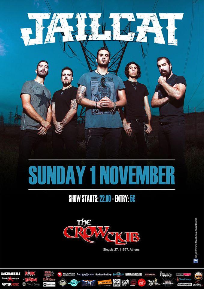 Jailcat - The Crow Club
