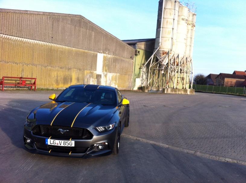 Fenneks Magnetic Grauer GT Zuwuchs in der Garage - Seite 6 - Mustang ...
