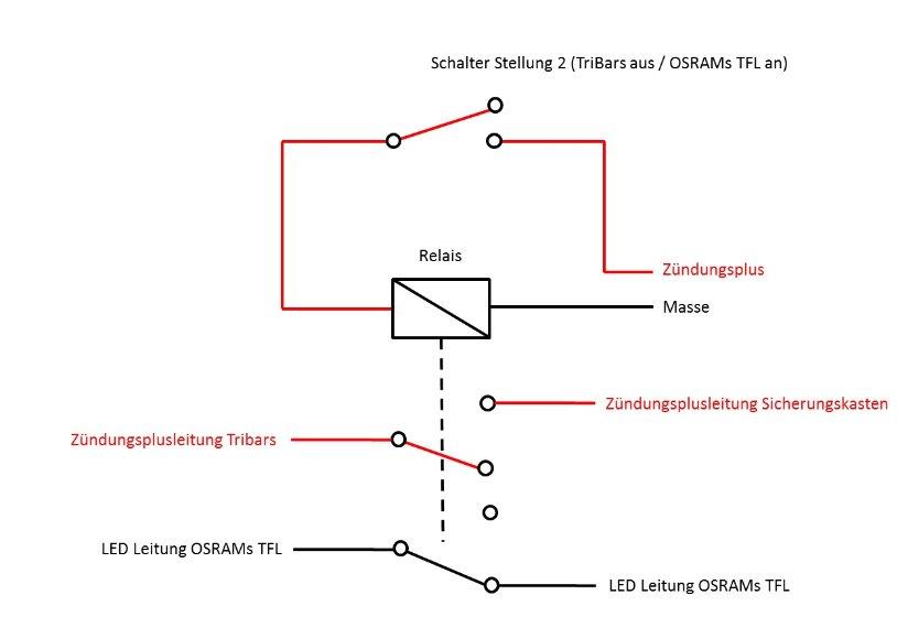Fein Fahrlicht Relais Schaltplan Bilder - Elektrische ...