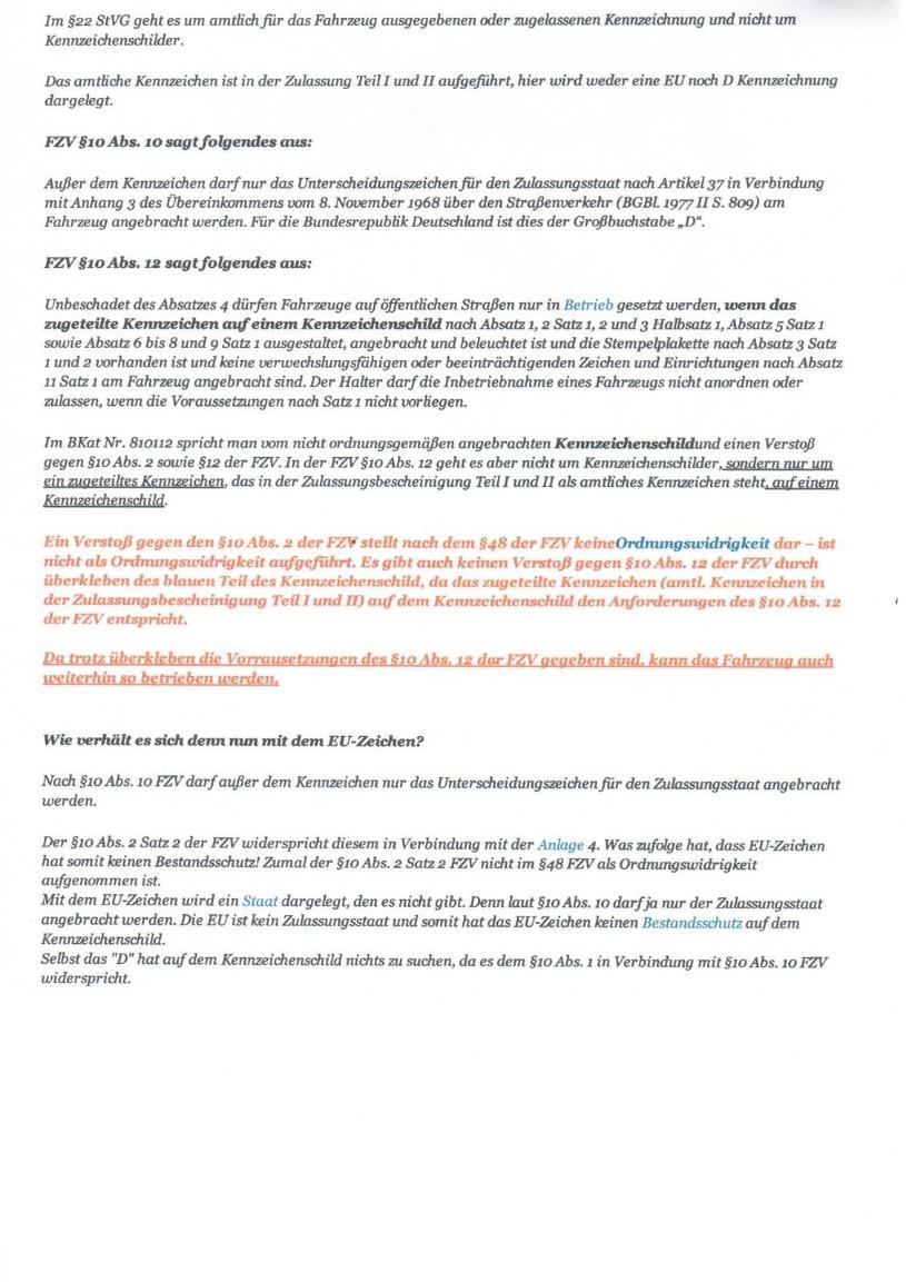 Eurokranz Im Nummerschild überkleben Mustang 6 Forum