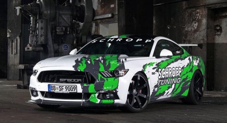 APR Front Splitter mit Stabi - Mustang 6 Forum (2015-2019)
