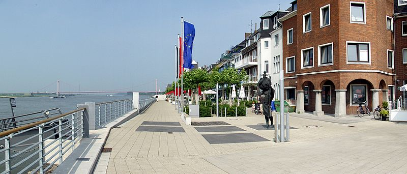 Die Emmericher Baugenossenschaft lässt vorbeugend CO-Melder installieren (© Raimond Spekking / CC BY-SA 3.0 (via Wikimedia Commons))
