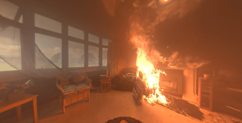 Erleben Sie in VR, wie entscheidend jede Sekunde in einer Brandsituation ist.