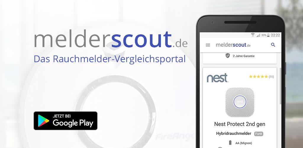 melderscout.de ist jetzt auch als Android-App verfügbar